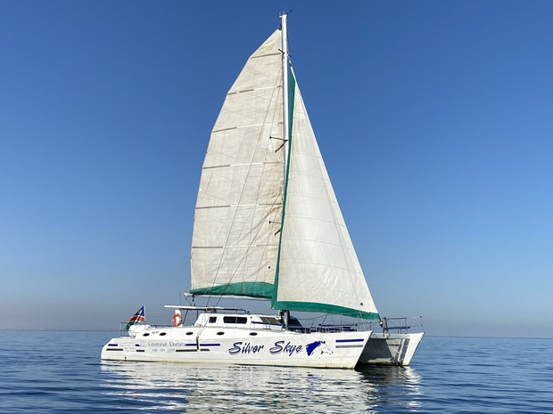 Sailing with Catamaran Charters Namibia